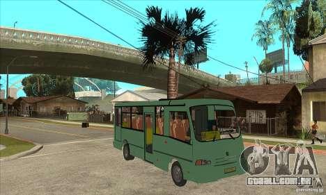 SULCO 3203 para GTA San Andreas vista traseira