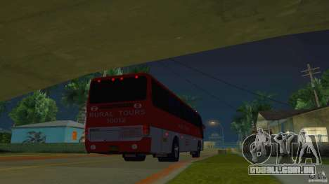 Rural Tours 10012 para GTA San Andreas esquerda vista
