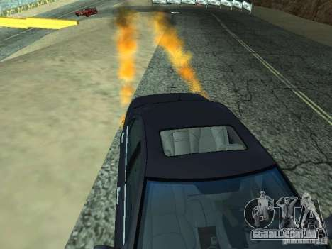 Car Effect para GTA San Andreas