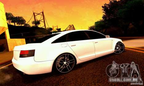 Audi A6 Blackstar para as rodas de GTA San Andreas