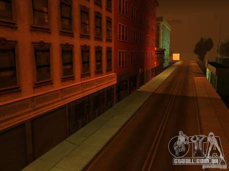 A cidade subterrânea secreta v 1.0 para GTA San Andreas segunda tela