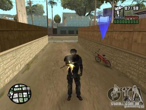 Comando do SWAT 4 para GTA San Andreas terceira tela
