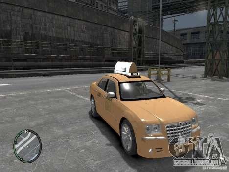 Chrysler 300c Taxi v.2.0 para GTA 4 vista direita