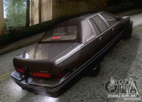 Buick Roadmaster 1996 para GTA San Andreas vista direita
