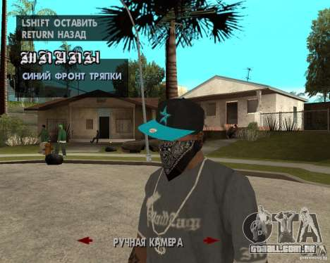 Hip-Hop caps para GTA San Andreas sexta tela