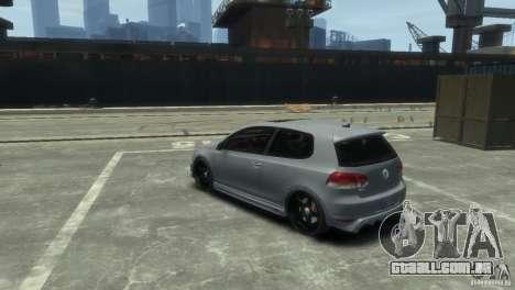 Volkswagen Golf GTI para GTA 4 vista direita