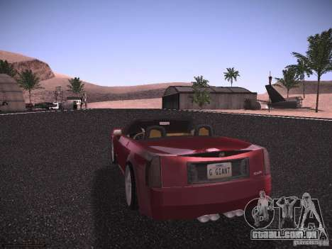 Cadillac XLR 2006 para GTA San Andreas vista direita