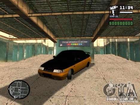 VAZ 2110 HERTZ-estilo (D.A.G) laranja para GTA San Andreas
