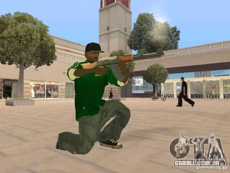 New Sweet para GTA San Andreas terceira tela