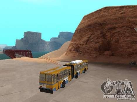 Reboque YUMZ T1 para GTA San Andreas esquerda vista