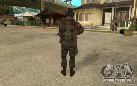 Bandeira das forças especiais para GTA San Andreas terceira tela