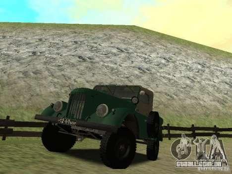 GAZ 69 APA 12 para GTA San Andreas