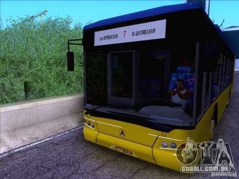 ElectroLAZ-12 para GTA San Andreas traseira esquerda vista