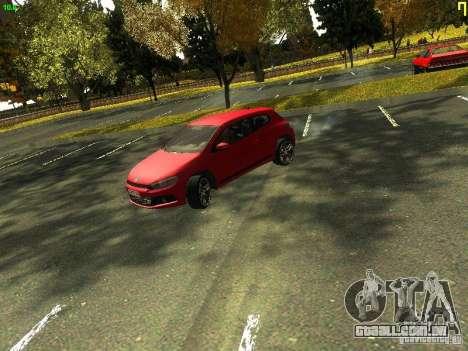 Volkswagen Scirocco 2009 para GTA San Andreas esquerda vista