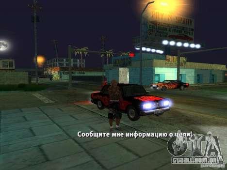 Killer Mod para GTA San Andreas sexta tela