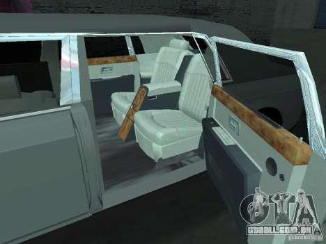 Rolls-Royce Phantom Limousine 2003 para GTA San Andreas vista direita