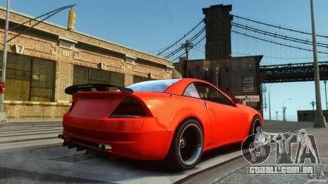 Feltzer DriftTec para GTA 4 traseira esquerda vista