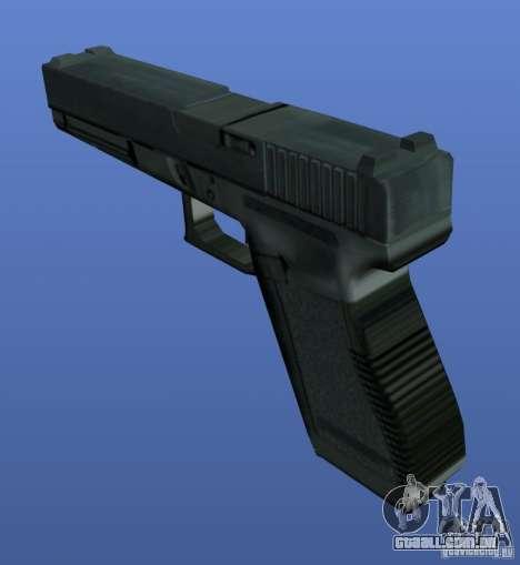 Weapons Retex para GTA 4 por diante tela