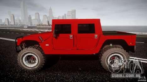 Hummer H1 4x4 OffRoad Truck v.2.0 para GTA 4 vista interior
