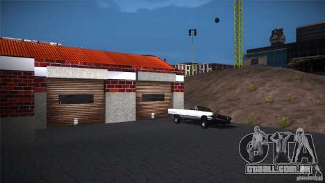 San Fierro Upgrade para GTA San Andreas terceira tela