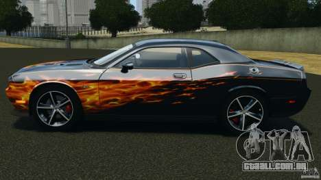 Dodge Challenger SRT8 392 2012 para GTA 4 esquerda vista