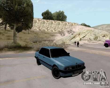 BMW M3 E30 323i street para GTA San Andreas vista direita
