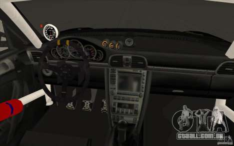 Porsche 997 Rally Edition para GTA San Andreas vista superior