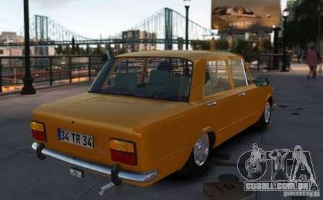 Fiat 124 para GTA 4 esquerda vista
