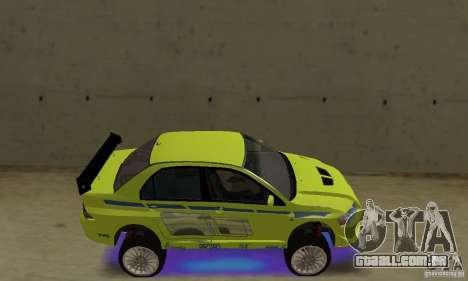 Luzes de néon azuis melhoradas para GTA San Andreas segunda tela