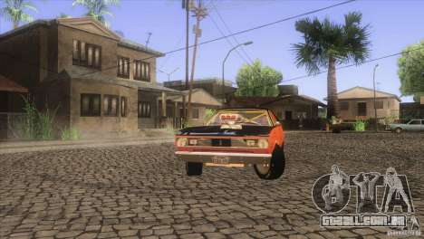 Plymouth Duster 440 para GTA San Andreas interior