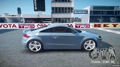 Audi TT RS 2010 para GTA 4 vista lateral