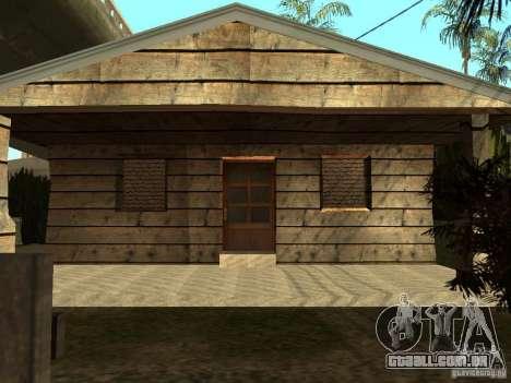 Retekstur casas em Groove Street para GTA San Andreas segunda tela