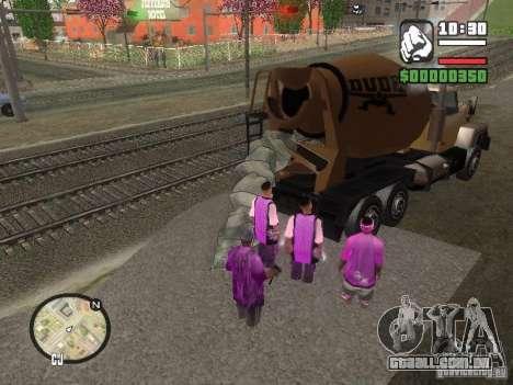 Chement para GTA San Andreas segunda tela