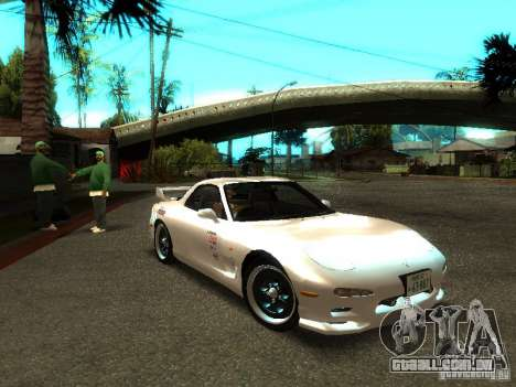 Mazda RX-7 TypeR para GTA San Andreas