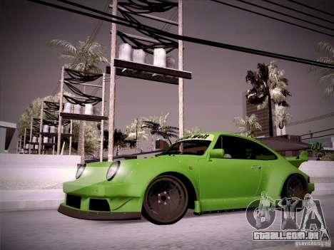 Porsche 911 Turbo RWB Pandora One para GTA San Andreas esquerda vista