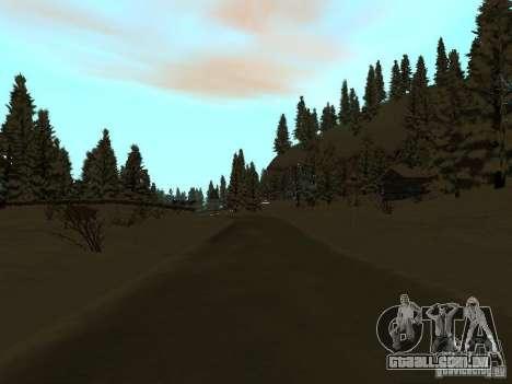 Trilha de inverno para GTA San Andreas oitavo tela