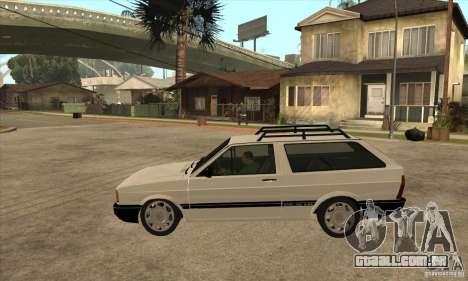 VW Parati GLS 1989 para GTA San Andreas esquerda vista