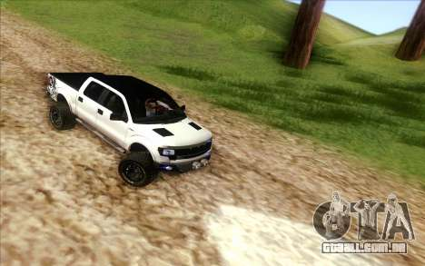 Ford F-150 Carryer Metal Mulisha para GTA San Andreas vista direita