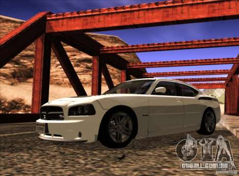 Dodge Charger R/T Daytona para vista lateral GTA San Andreas
