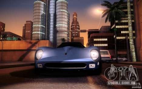 Ferrari 250 GTO 1964 para GTA San Andreas vista traseira