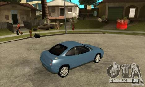 Fiat Coupe - Stock para GTA San Andreas vista direita