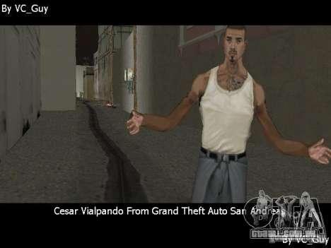 SA Characters para GTA Vice City sexta tela