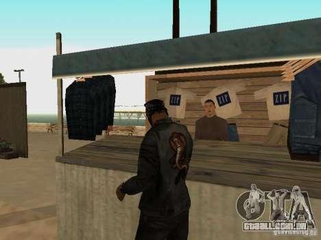 Mercado na praia para GTA San Andreas twelth tela