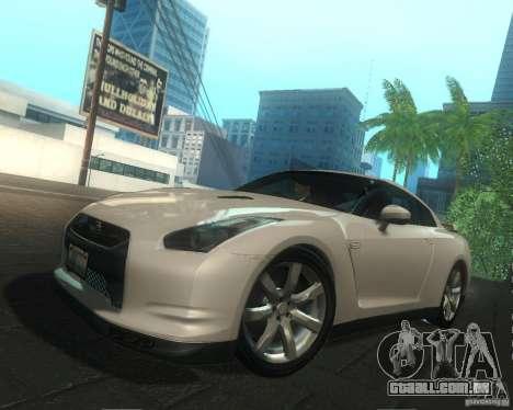 Nissan GTR R35 Spec-V 2010 Stock Wheels para o motor de GTA San Andreas
