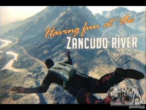 Videoskrinšoty de GTA V para GTA San Andreas segunda tela