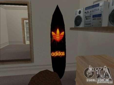 Surf novo da casa de CJ para GTA San Andreas