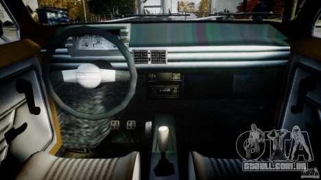 Fiat 126p 1976 para GTA 4 vista direita
