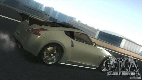 Nissan 370Z Drift 2009 V1.0 para GTA San Andreas esquerda vista