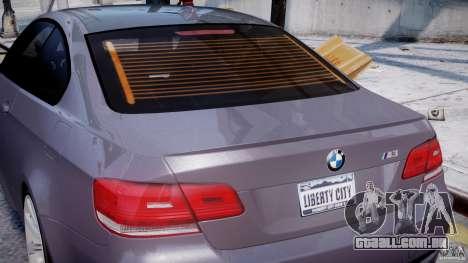 BMW M3 E92 stock para GTA 4 rodas