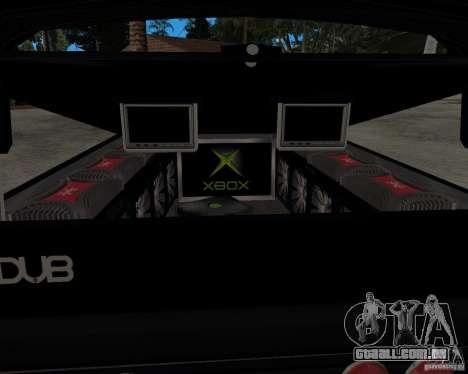Chevrolet Silverado 1996 Lowrider para GTA San Andreas vista direita